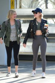 Lucy Hale Out for a Coffee with a Friend in Los Angeles 2018/12/01 2