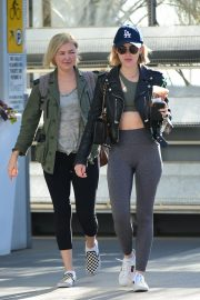 Lucy Hale Out for a Coffee with a Friend in Los Angeles 2018/12/01 5