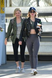 Lucy Hale Out for a Coffee with a Friend in Los Angeles 2018/12/01 8