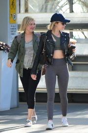 Lucy Hale Out for a Coffee with a Friend in Los Angeles 2018/12/01 10