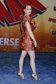 Madelaine Petsch at Spider-man: Into the Spider-verse Premiere in Hollywood 2018/12/01 2