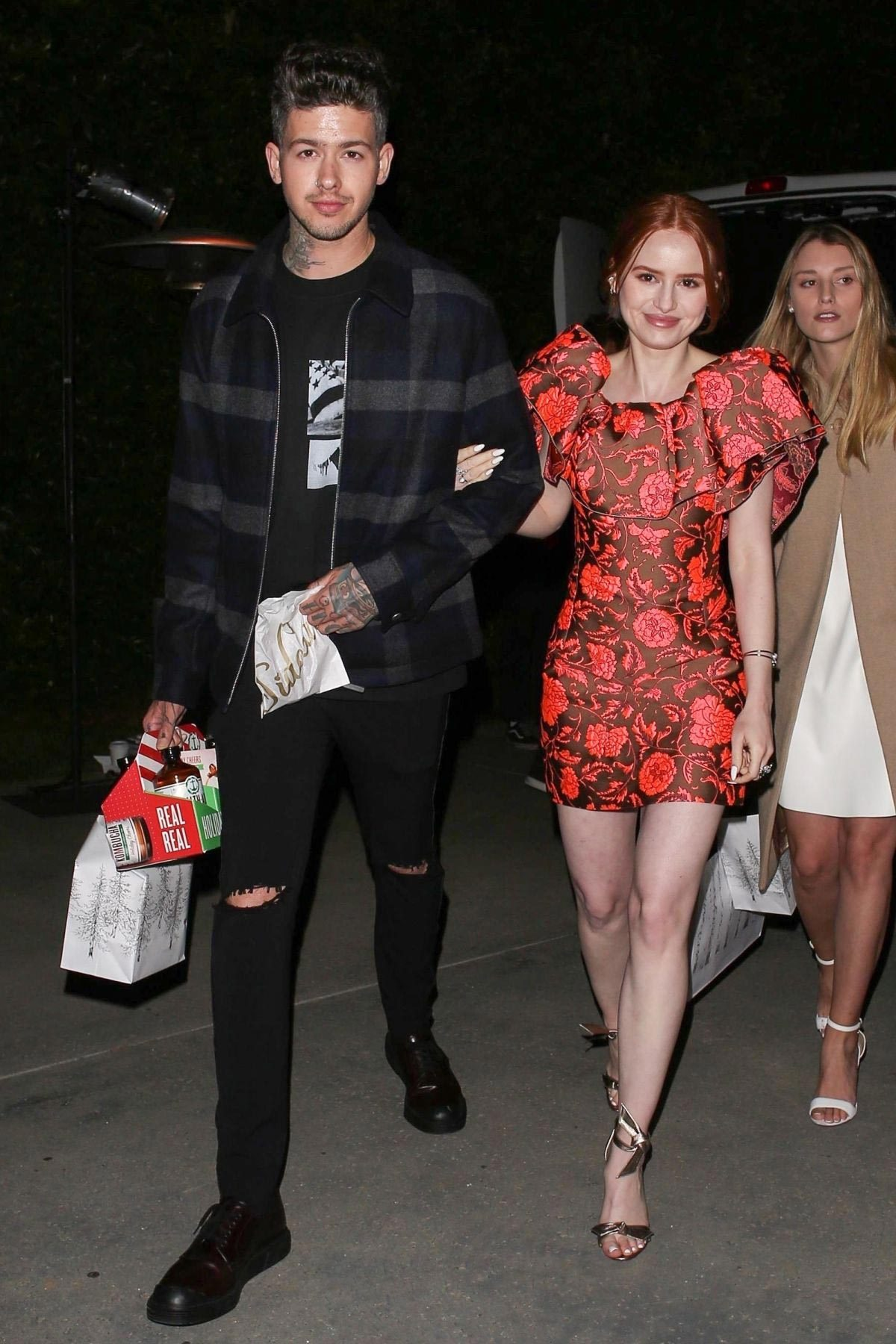 Madelaine Petsch Night Out in Los Angeles 2018/12/01 1