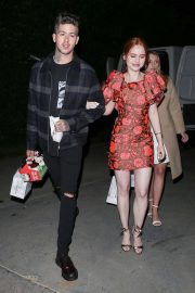 Madelaine Petsch Night Out in Los Angeles 2018/12/01 5