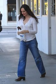 Madeleine Stowe Out Shopping in Beverly Hills 2018/12/03 2