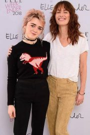 Maisie Williams at Elle Weekender 2018 at Saatchi Gallery in London 2018/11/01 1