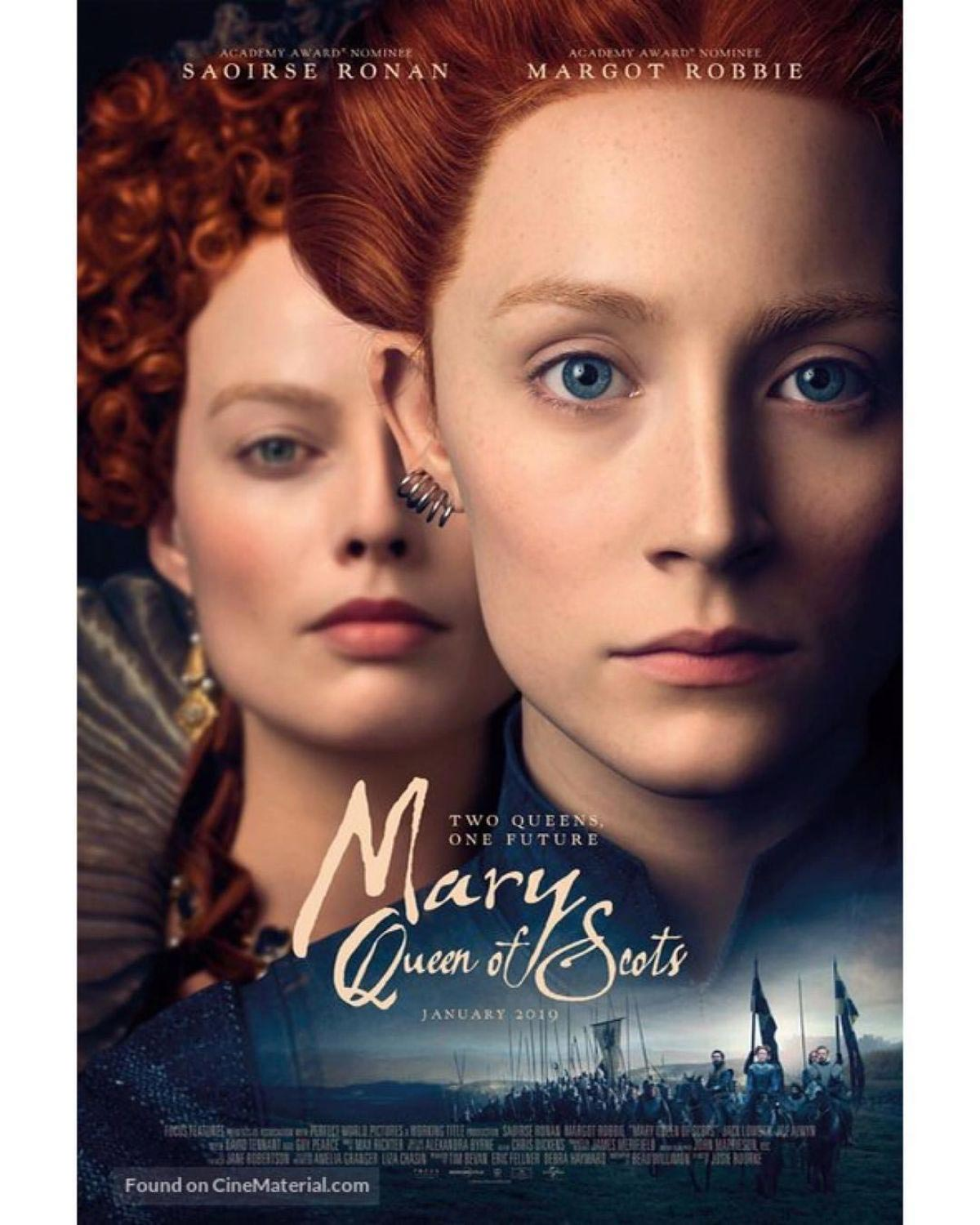 Margot Robbie at Mary Queen of Scots Posters and Promos 2018/12/02 1