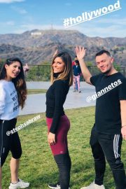 Maria Menounos Out Hiking in Hollywood Instagram Pictures 2018/12/16 3