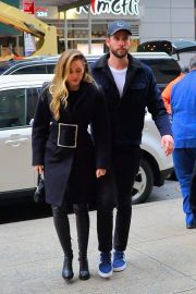 Miley Cyrus and Liam Hemsworth Arrives at NBC Studios in New York 2018/12/15 2