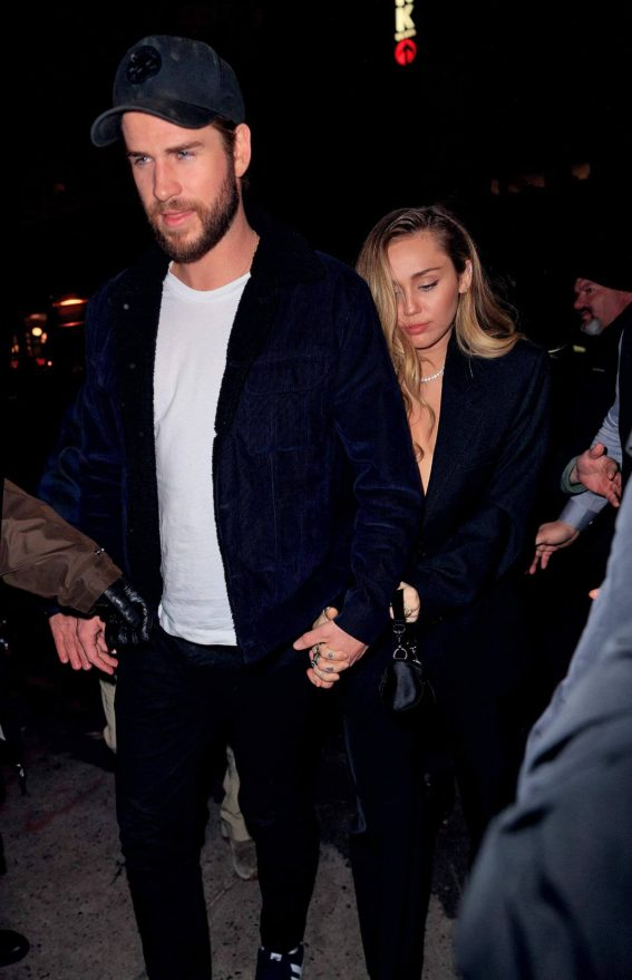 Miley Cyrus Arrives at SNL After Party in New York 2018/12/15 1