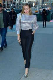 Miley Cyrus Arrives at Z100 Radio Station in New York 2018/12/10 2