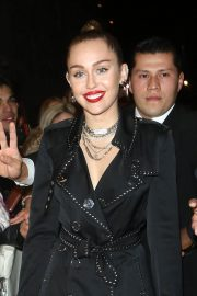 Miley Cyrus at Burberry x Vivienne Westwood Party in London 2018/12/07 3