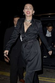 Miley Cyrus at Burberry x Vivienne Westwood Party in London 2018/12/07 10