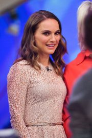 Natalie Portman on the Set of Today Show in New York 2018/12/12 2