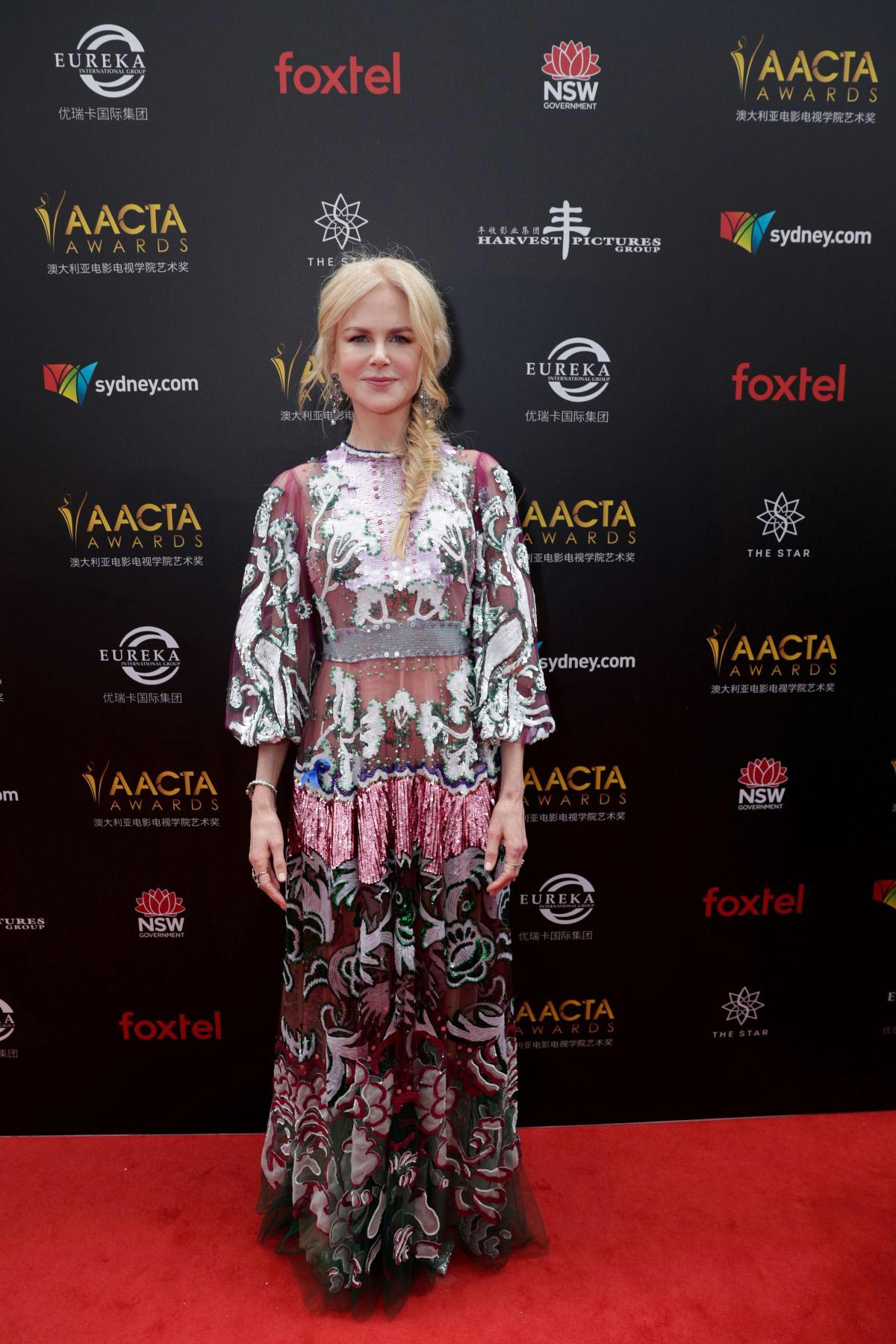 Nicole Kidman at Aacta Awards Presented by Foxtel in Sydney 2018/12/05 1