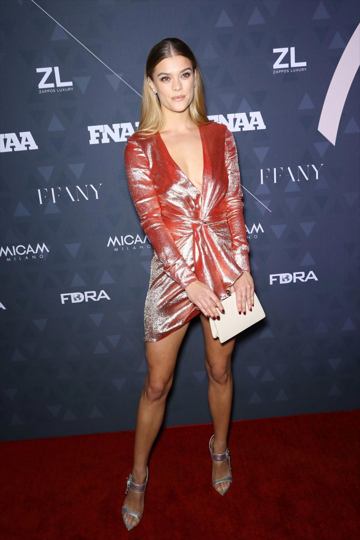 Nina Agdal at Footwear News Achievement Awards in New York 2018/12/04 1