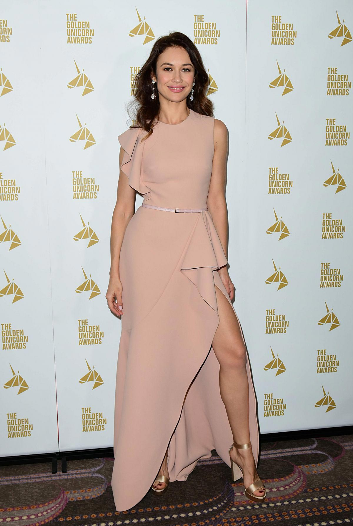 Olga Kurylenko at 2018 Golden Unicorn Film Awards in London 2018/12/01 1