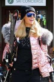 Paris Hilton Out and About in Aspen 2018/12/29 10
