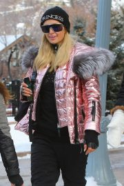 Paris Hilton Out and About in Aspen 2018/12/29 13