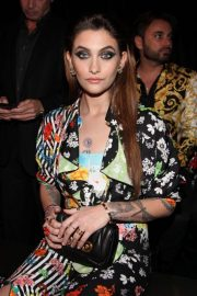 Paris Jackson at Versace Pre-fall 2019 Fashion Show in New York 2018/12/02 2