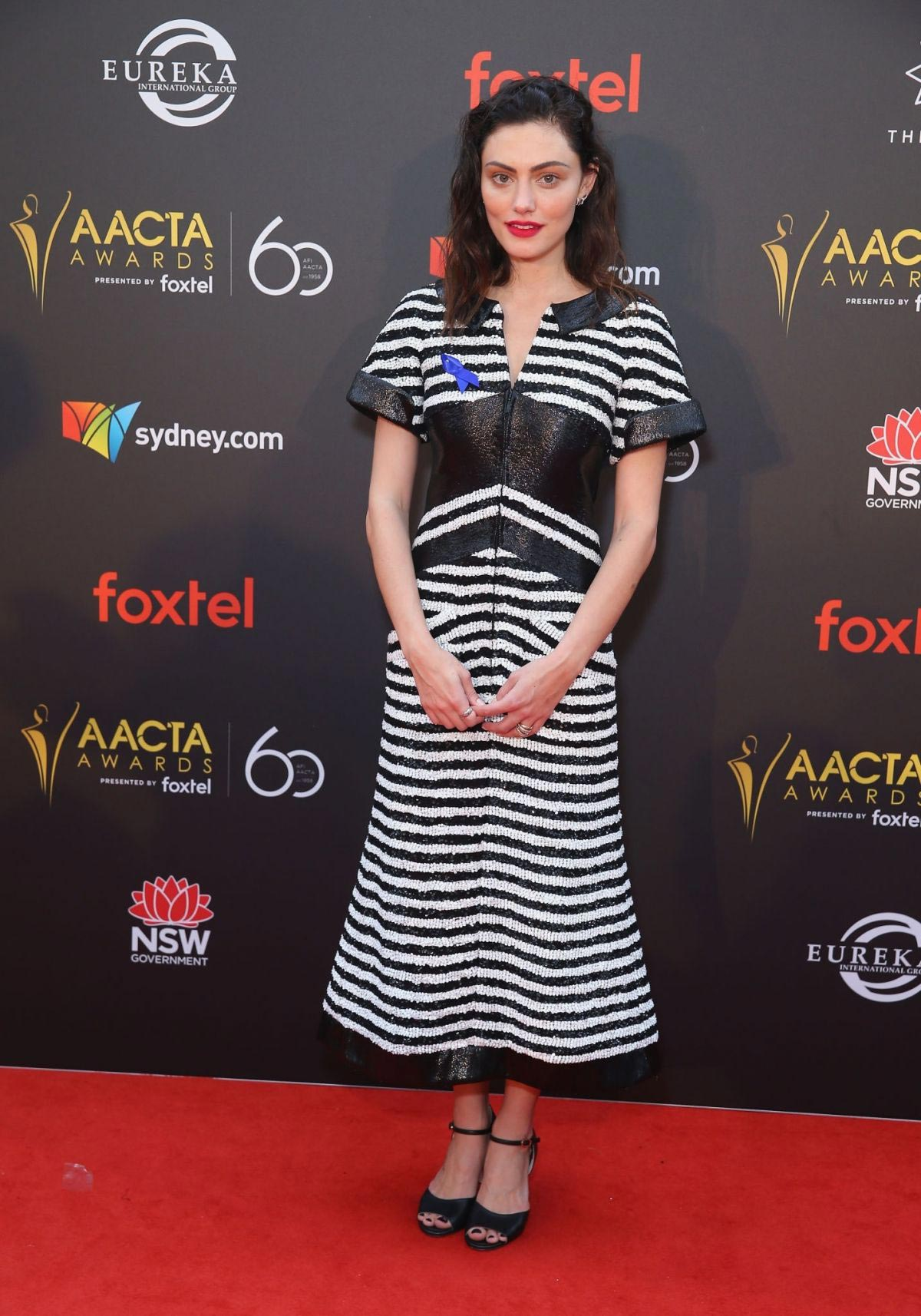 Phoebe Tonkin at Aacta Awards Presented by Foxtel in Sydney 2018/12/05