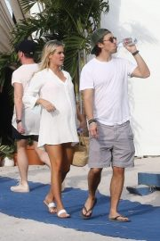 Pregnant Claire Holt and Andrew Joblon Out in Miami 2018/12/08 7