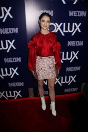Raffey Cassidy at Vox Lux Premiere in Hollywood 2018/12/05 2