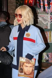 Rita Ora Arrives to Preform a Surprise Show at Abbey in West Hollywood 2018/12/04 1