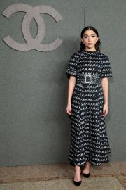 Rowan Blanchard at Chanel Metiers D'Art Show Pre-fall 2019 in New York 2018/12/04 2