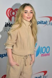Sabrina Carpenter at Y100's iHeartRadio Jingle Ball at BB&T Center in Sunrise 2018/12/16 9