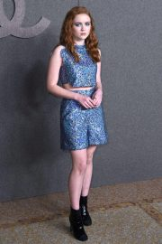 Sadie Sink at Chanel Metiers D'Art Show Pre-fall 2019 in New York 2018/12/04 1