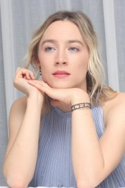 Saoirse Ronan at Mary, Queen of Scots Press Conference in Los Angeles 2018/11/28 10