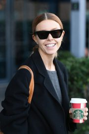 STACEY DOOLEY Leaves Village Hotel Club Watford in London 2018/12/16 5