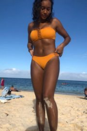 Sydney Park in Bikini at a Beach in Hawaii on Instagram Pictures 2018/12/28 3