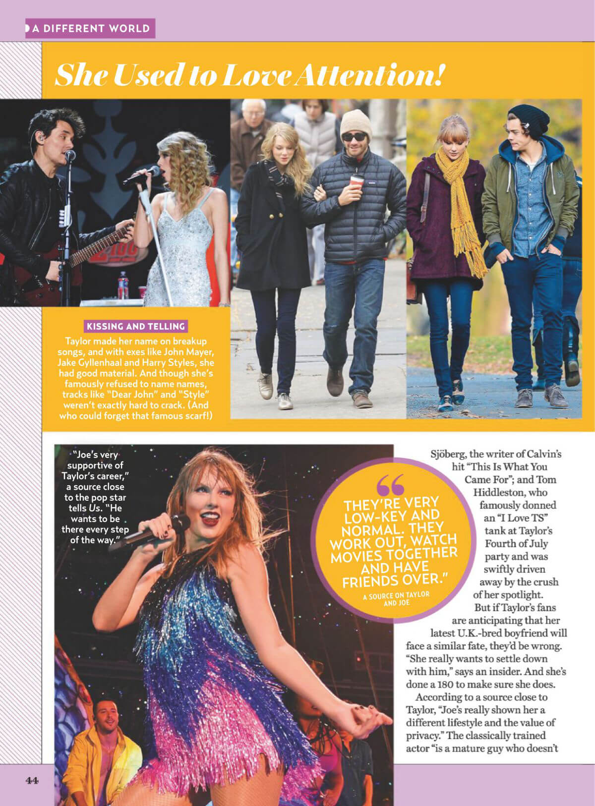Taylor Swift in US Weekly Magazine, January 2019 1