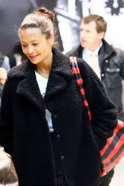 Thandie Newton at Heathrow Airport in London 2018/11/29 1
