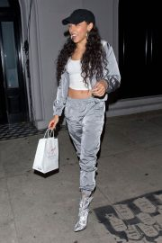 Tinashe at Craig's Restaurant in Los Angeles 2018/12/09 1