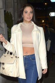 Tulisa Contostavlos at W7 Cosmetics Launch Party in London 2018/11/30 3