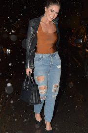 Vicky Pattison in Ripped Jeans Night Out in Newcastle 2018/12/15 9