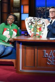 Whoopi Goldberg at Late Show with Stephen Colbert 2018/12/11 1