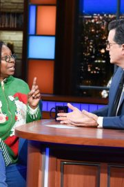 Whoopi Goldberg at Late Show with Stephen Colbert 2018/12/11 4