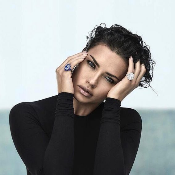 Adriana Lima Promote New High Jewellery collection of Chopard - January 21, 2018 1
