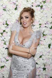 Aisleyne Horgan-Wallace at Her 40th Birthday Party in London 2018/12/27 10