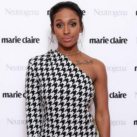 Alexandra Burke in Marie-Claire UK Awards on December 11, 2018 1