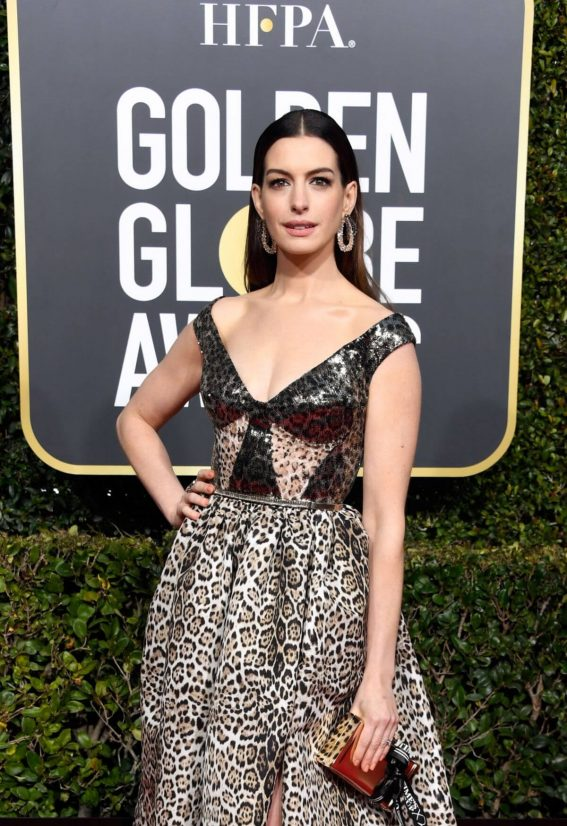 Anne Hathaway at 2019 Golden Globe Awards in Beverly Hills 2019/01/06 1