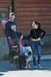 Ariel Winter and Levi Meaden Out with Their Dogs in Los Angeles 2018/12/30 1