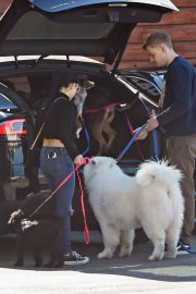 Ariel Winter and Levi Meaden Out with Their Dogs in Los Angeles 2018/12/30 6