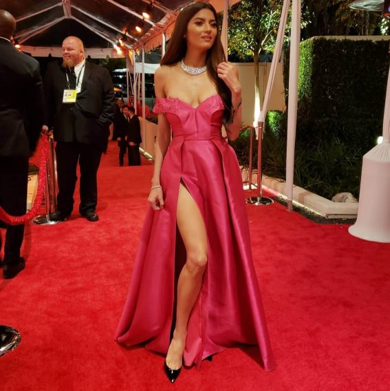 Blanca Blanco at 76th Annual Golden Globe Awards January 06, 2019 in Beverly Hills 1
