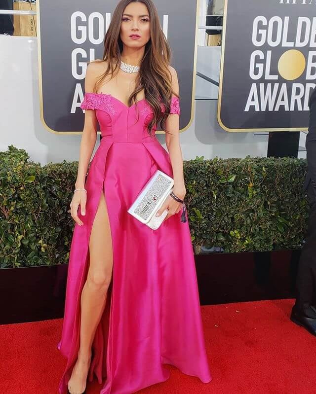 Blanca Blanco at 76th Annual Golden Globe Awards January 06, 2019 in Beverly Hills