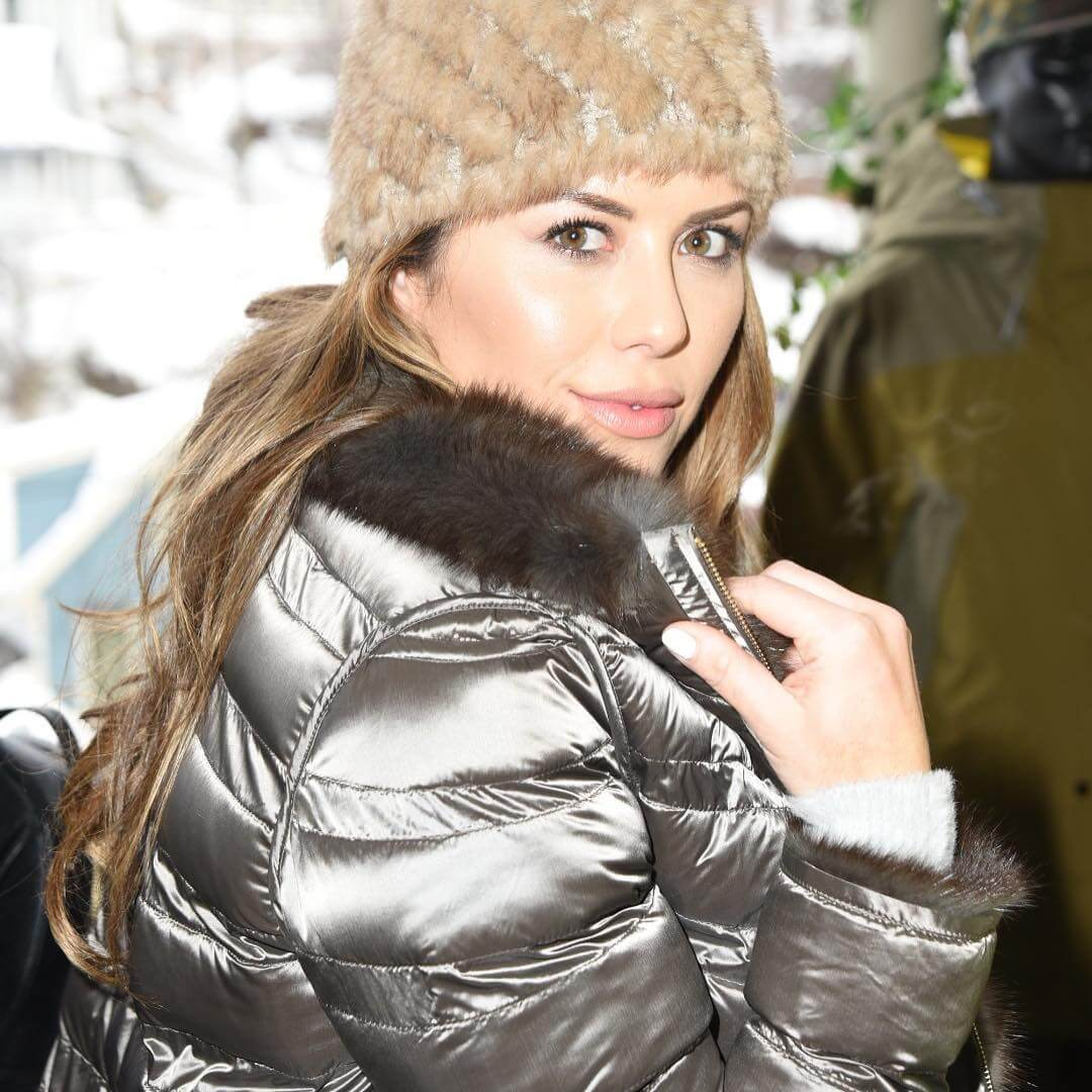 Brittney Palmer in Goose Jacket at 2019 Sundance Film Festival, January 27, 2019 1
