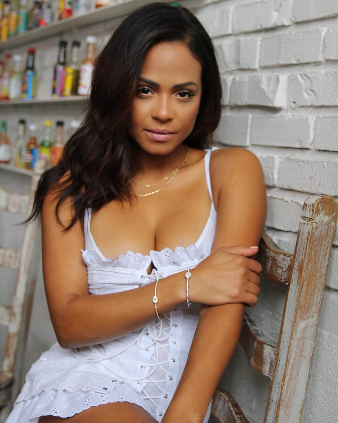 Christina Milian Promotes #houseoffinegold Bangles Perfect Gift for Valentine Day 2019/01/19 1